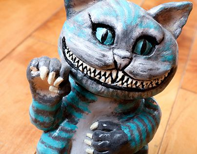 "Check out new work on my @Behance portfolio: ""Sculpture en argile - Cheshire Cat"" http://be.net/gallery/60668739/Sculpture-en-argile-Cheshire-Cat"