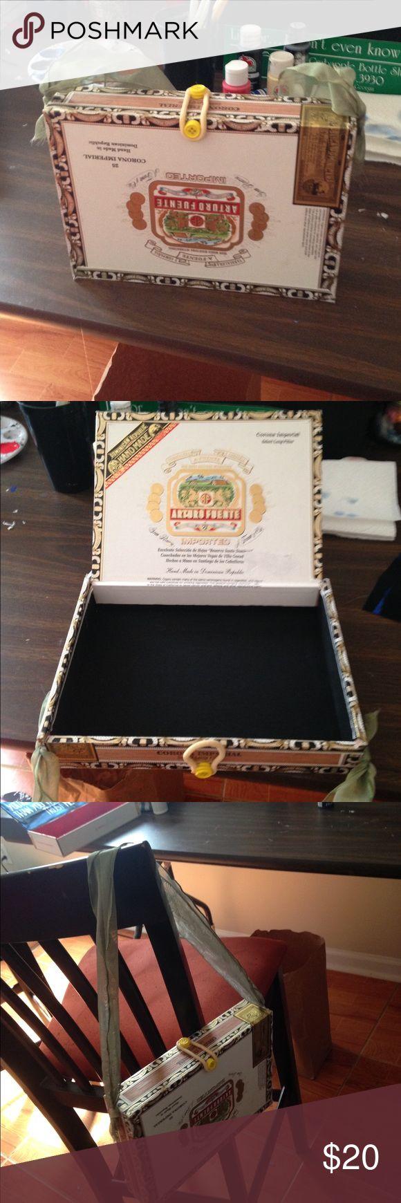 Cigar box purse Handmade cigar box purse Bags Mini Bags