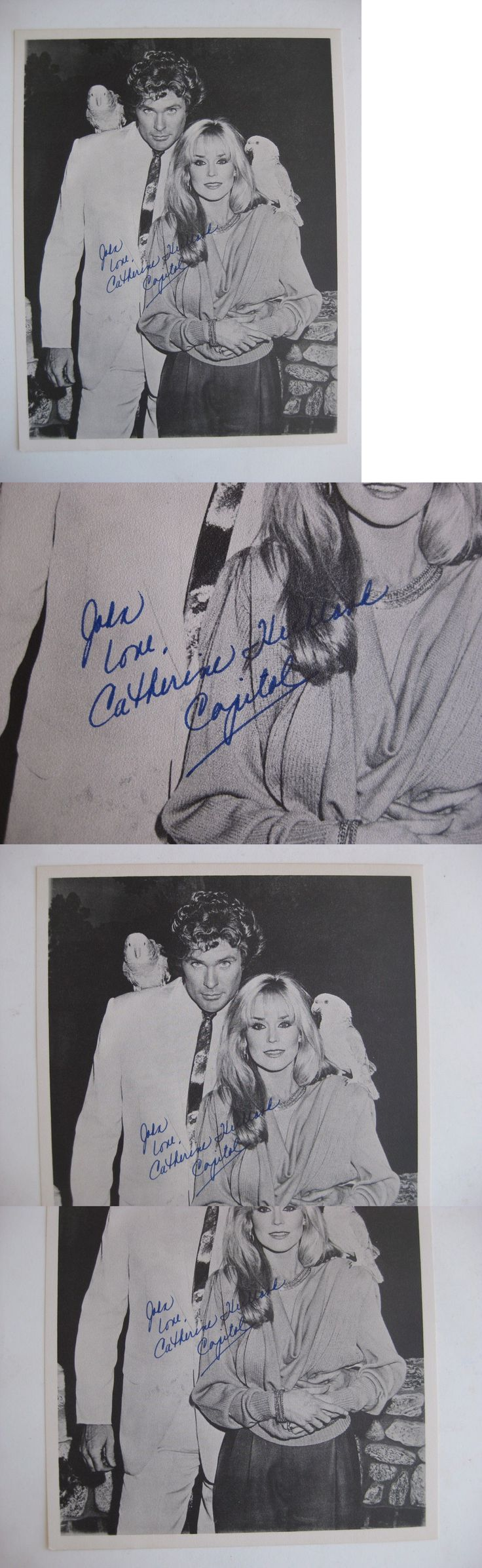 Celebrity Autographs: Vtg Hollywood Stars Film Tv Actress Catherine Hickland Autographed Print Signed -> BUY IT NOW ONLY: $9.99 on eBay!