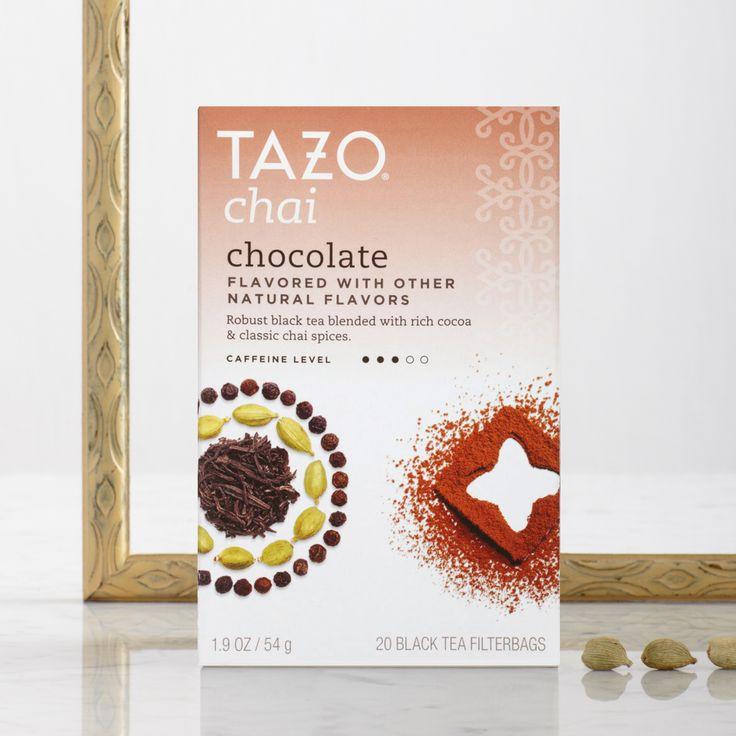 #SweetMeetsSpicy #TazoChai www.tazo.com/chai