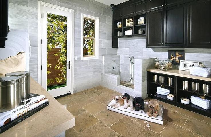 Dog Friendly Mudroom, Transitional, laundry room, Standard Pacific Homes... Love the idea of this even if we're a few years away from a dog...