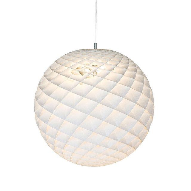 The #Patera #pendant #light was inspired by the #Fibonacci sequence as it appears in #nature.  The Fibonacci #spiral occurs naturally in biology again and again, from seashells to pine cones and sunflowers... the pattern occurs so frequently that it's been attributed an almost esoteric quality.  The angled diamond shaped cells of the Patera light creates a soft even #glow in all directions whilst guarding against direct glare.  The light it emits is reminiscent of Poul Henningsen's early…