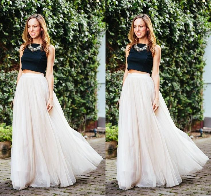 2017 Long Length Layered Tulle Tutu Skirts For Adults Custom Made A Line Cheap Party Prom Women Clothing