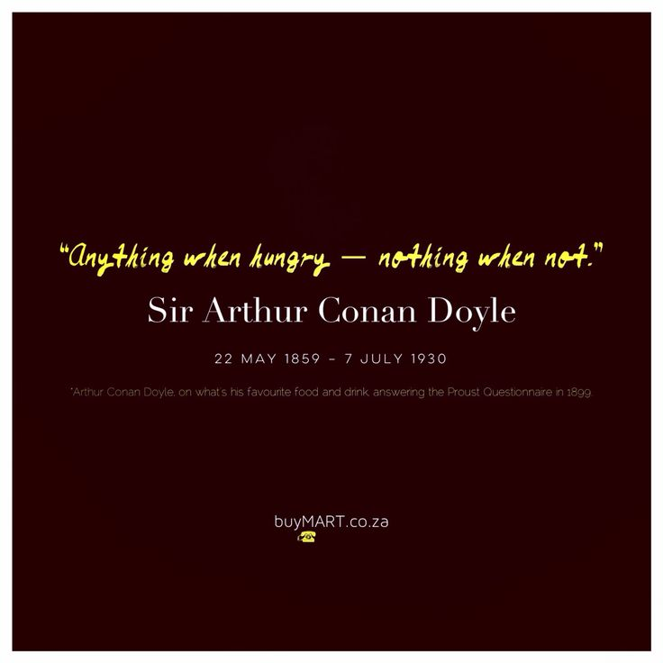 Sir Arthur Conan Doyle passed away on 7th July 1930, though his spirit might still be lurking.  More of his answers to the Proust Questionnaire : http://www.openculture.com/2013/03/arthur_conan_doyle_fills_out_the_questionnaire_made_famous_by_marcel_proust_1899.html  #ArthurConanDoyle #SouthAfrica #buyMART #foodie #Movies #literature #Books #Chef #Africa #Sherlock #Entrepreneur #StartUp #SouthAfrican #AgencyLife #Design #Creative #Ad #GraphicDesign #Advertising #Brand #Library #FoodPorn