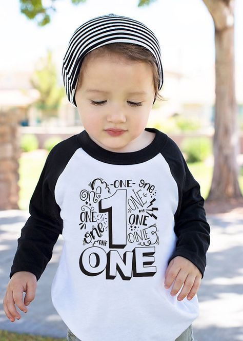 Your Little Boy Is Turning One Year Old Let Him Celebrate In Style With This Playful And Funny T Shirt Created Just For Featuring The Phrase Im 1