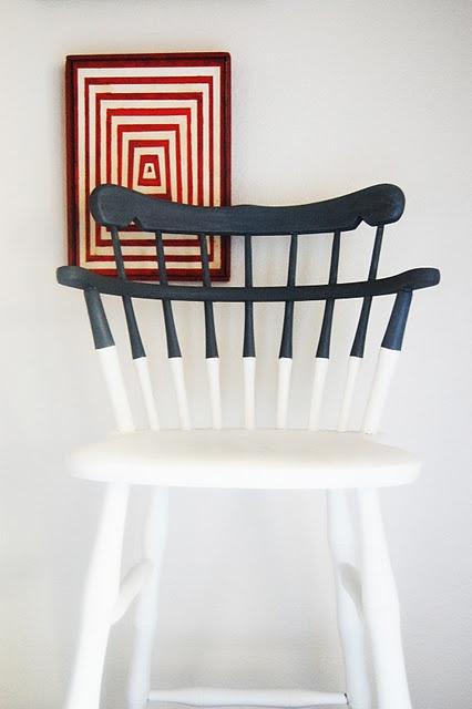 Vintage bar stool redo