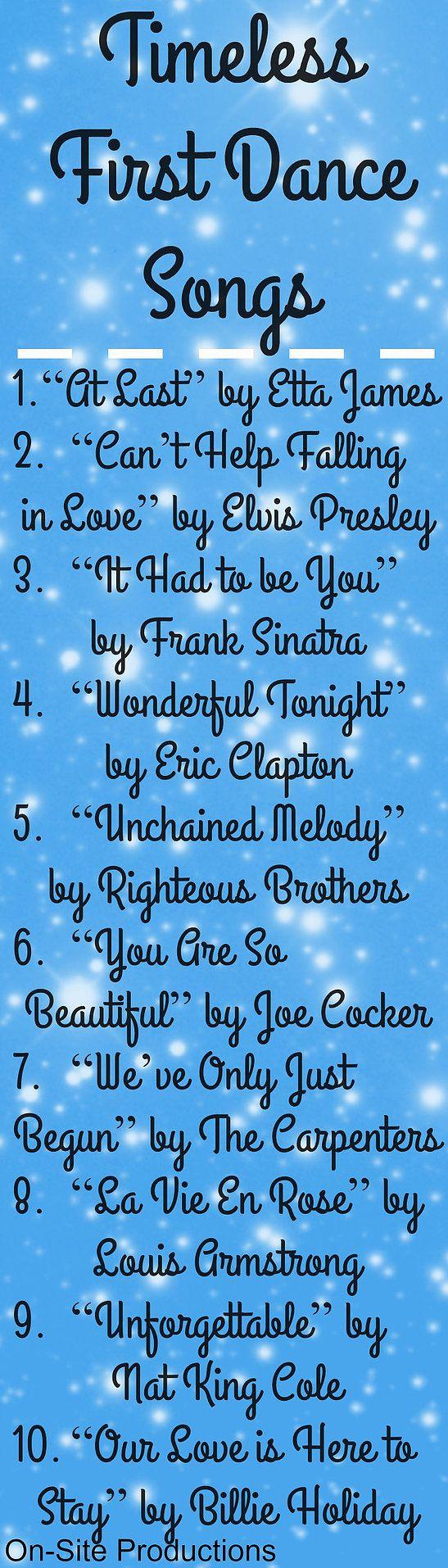 Best 25 Wedding Dance Songs Ideas On Pinterest