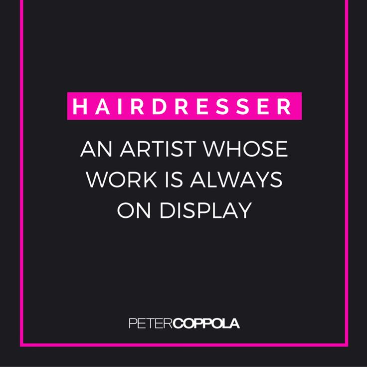 91 best Hairstylist Motivation images on Pinterest Hairstyles - hairstylist job description