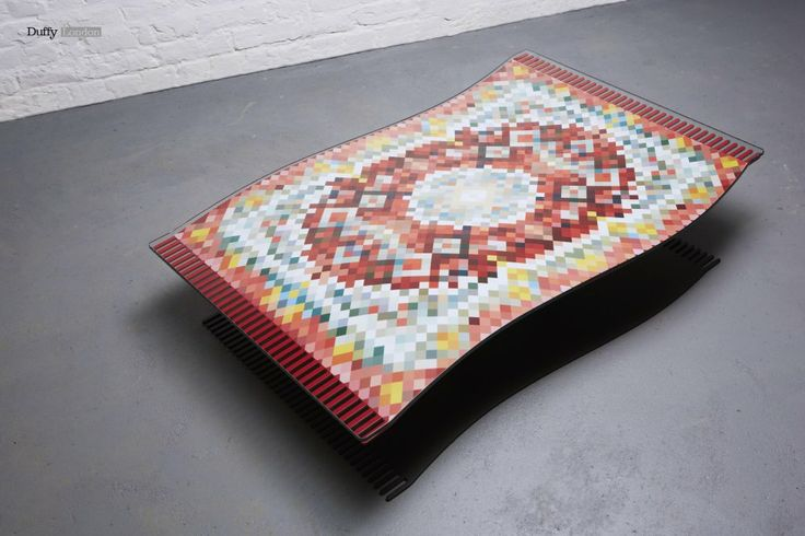 Flying Carpet Coffee Table by Duffy London.
