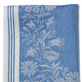 Linen Kitchen Towels I Have A Large Tablecloth In This Same Pattern