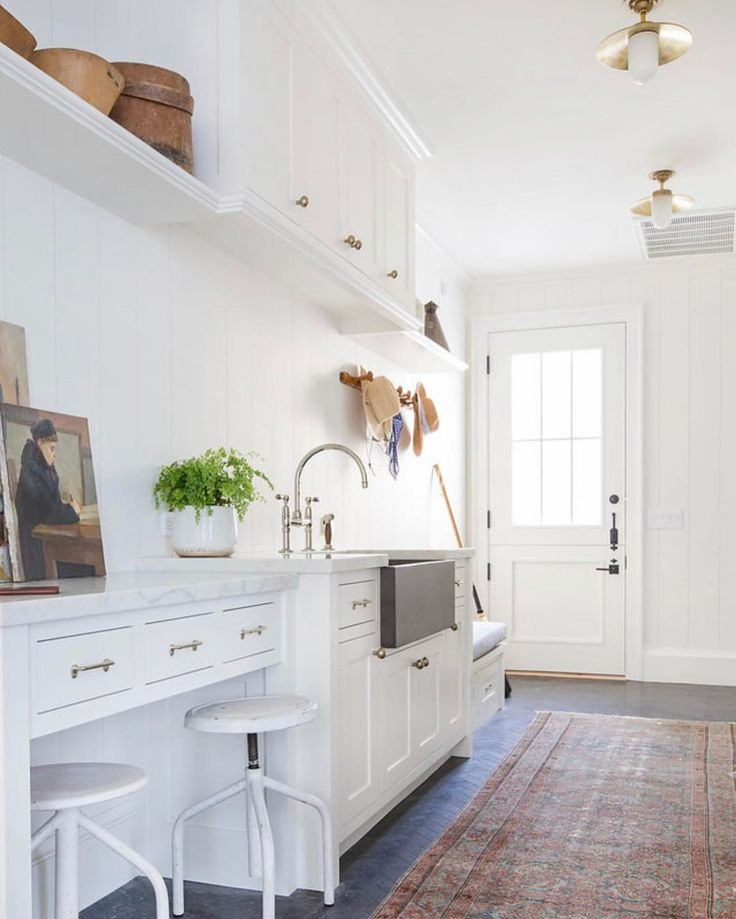 """2,210 Likes, 24 Comments - Amber Lewis (@amberinteriors) on Instagram: """"EXTRA EXTRA READ ALL ABOUT IT... This Mud room and laundry room are not only functional but REAL…"""""""