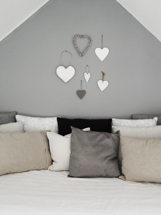 hart wanddecoratie