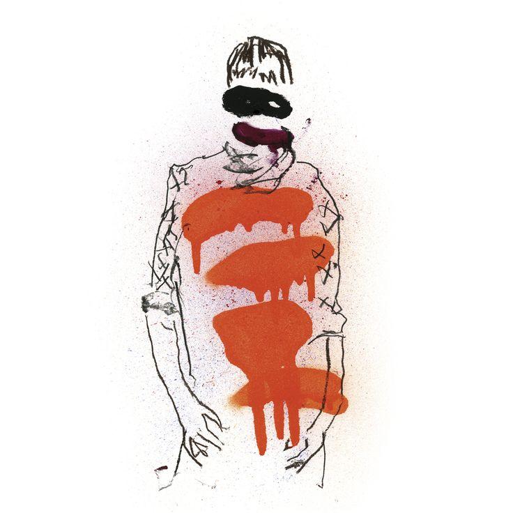 Finnish abstract expressionist/illustrator painter Jarno Kettunen