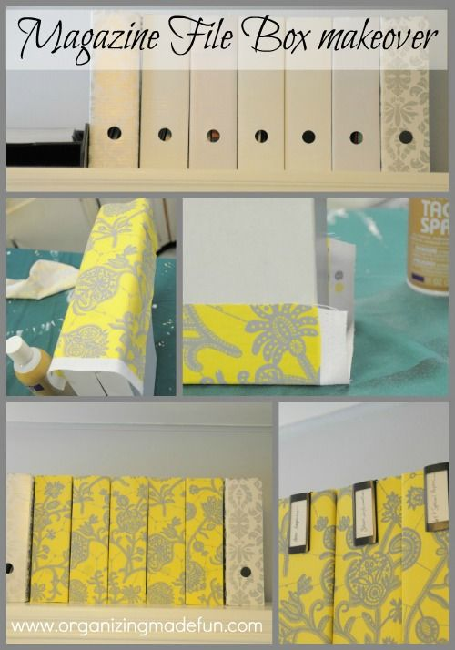 Cover cardboard magazine holders with fabric use spray adhesive  sc 1 st  Pinterest & 100 best Cardboard images on Pinterest | Cardboard crafts ... Aboutintivar.Com
