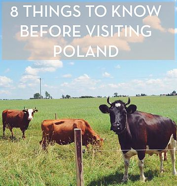 8 things everyone should know before they travel to Poland