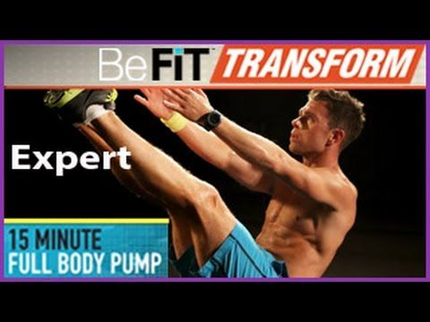 15 Min Full Body Pump Workout (Intermediate) with Chris Tye Walker is an electrifying, total body-sculpting AMRAP (as many reps as possible) workout routine ...