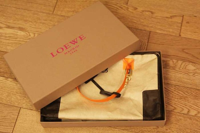 loewe paris fashion week invite; amazona bag made of paper
