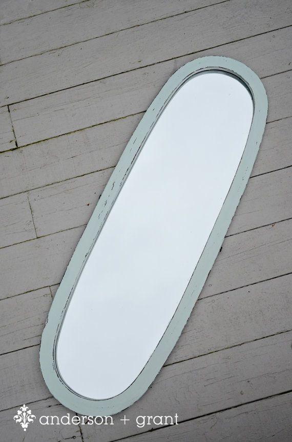 Aqua Blue  Full Length Mirror by andersonandgrant, $120