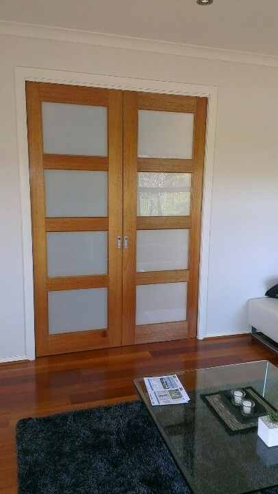 Rumpus room doors