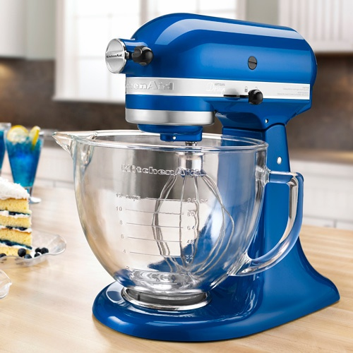 Electric Blue Kitchenaid 5 Quart Artisan Design Series Stand Mixer