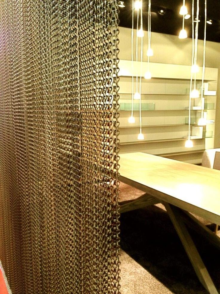 Kriskadecor Decorative #curtains For Mobilfresno Stand In @iSaloni #design # Decor