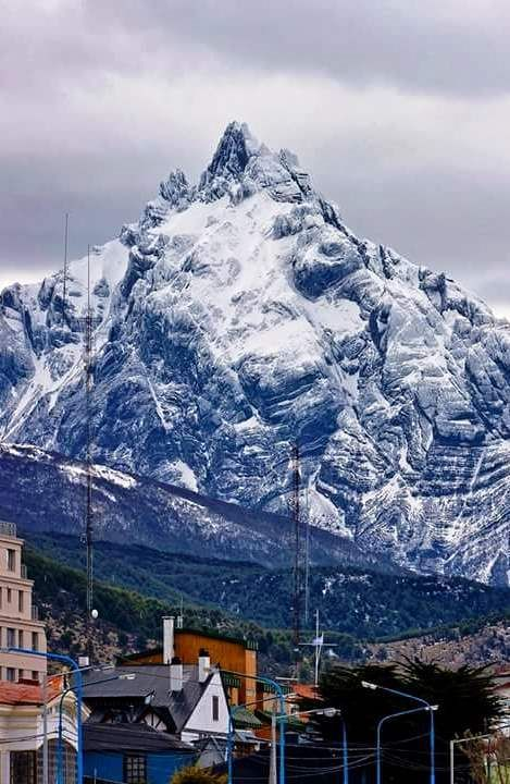 Monte Olivia, Ushuaia, Tierra del Fuego, Argentina. http://www.southamericaperutours.com/