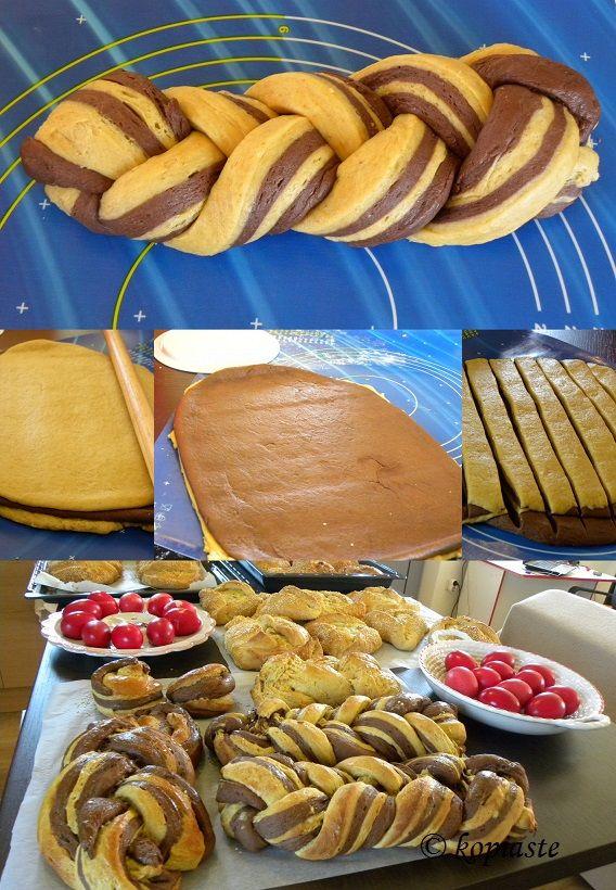 Tsourekia / Τσουρέκια Δοκιμασμένη συνταγή για πετυχημένα Τσουρέκια http://www.kopiaste.info/?p=7171