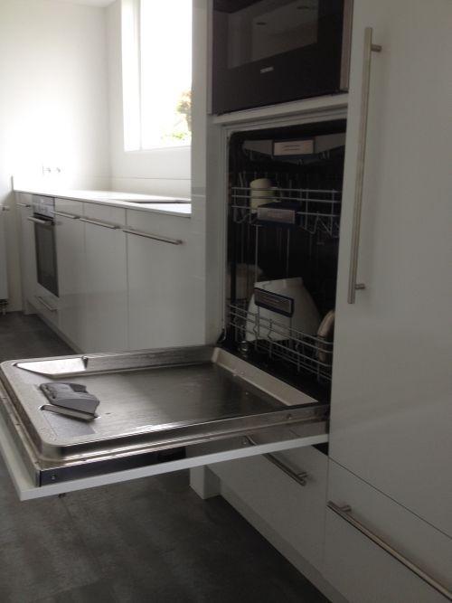 Vri interieur design keuken met vaatwasser op hoogte kitchen pinterest see best ideas - Layouts hoogte ...
