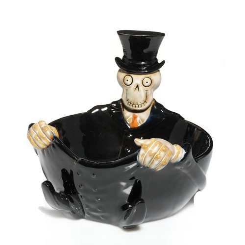 Exclusive Candy Dish : Boney Bunch : Halloween : Yankee Candle