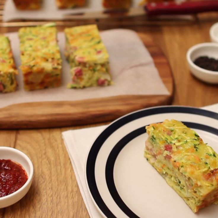 Great for the lunch boxes and super easy to sneak in those veggies. This Zucchini Slice by Debra Lee is a double win