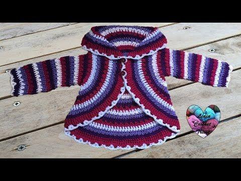 Suéter para Niña de 6 a 7 años Crochet - YouTube