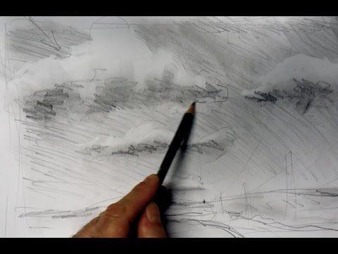 ganz einfach zeichnen lernen 5: Wolken zeichnen - YouTube