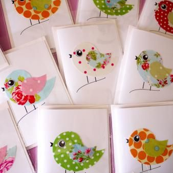 EMMA GARRY FABRIC CARDS