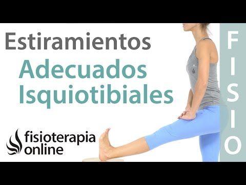 Cómo estirar los isquiotibiales sin implicar ni irritar al nervio ciático | Fisioterapia Online