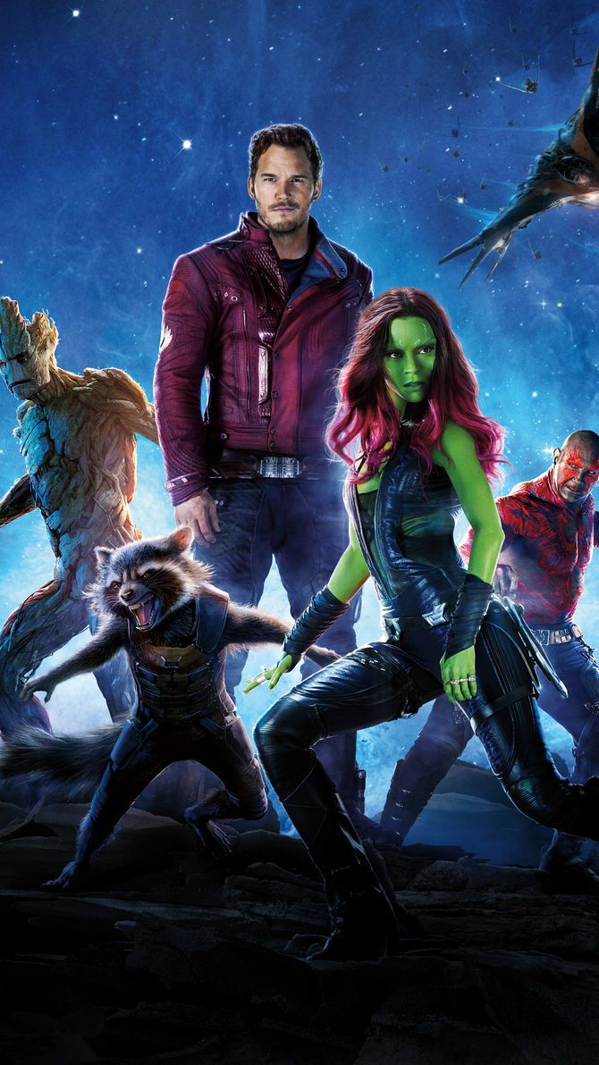Guardians Of The Galaxy 2014 Phone Wallpaper Guardians Of The