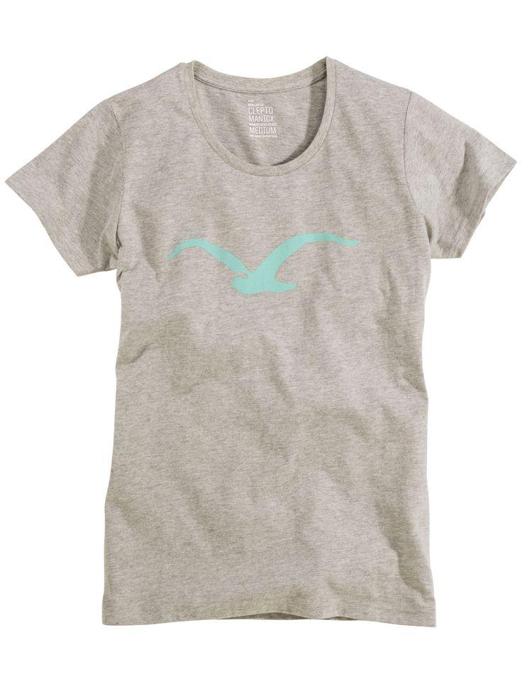 Cleptomanicx Woman T-Shirt Möwe