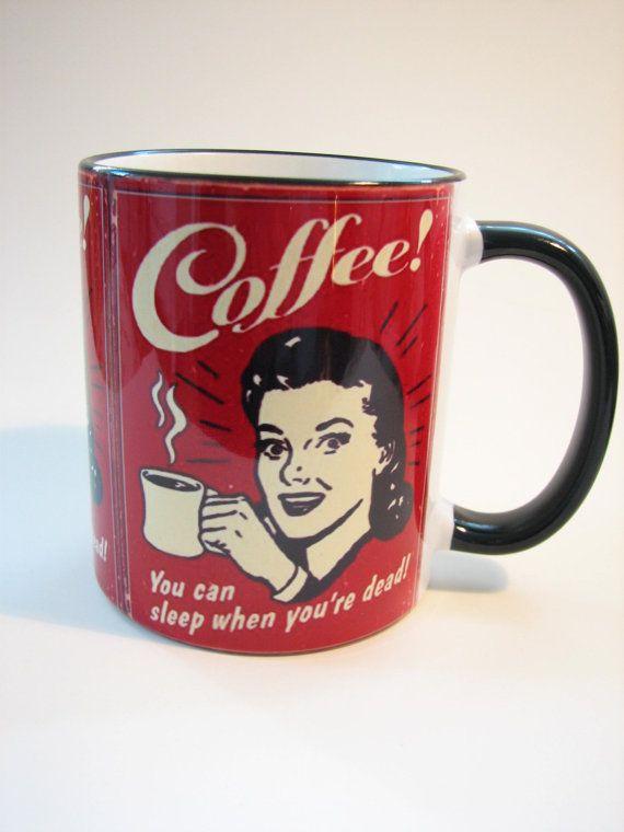 Ceramic mug Coffee by MargoMagicJewel on Etsy