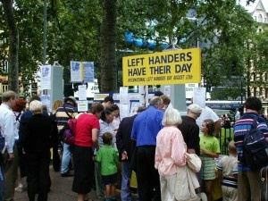International Left-Handers Day is August 13th
