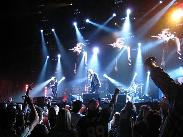 Oasis, Sheffield Arena, Sheffield, 1995