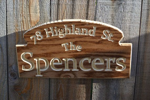 Табличка с новым адресом/Street Address Plaque: Personalized Carved Wooden Last Name House Number Custom Engraved Sign