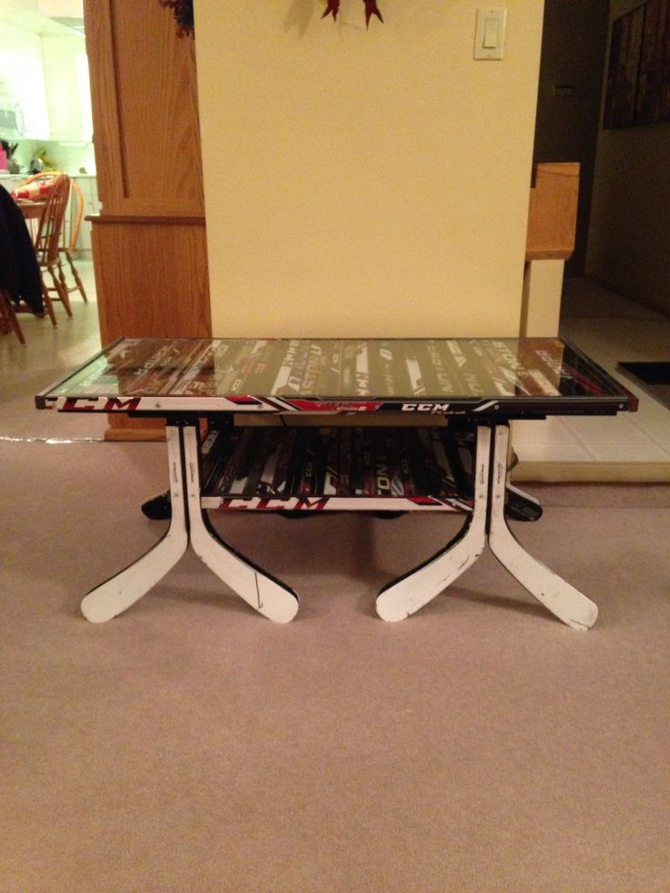 17 best images about hockey stick furniture ideas on