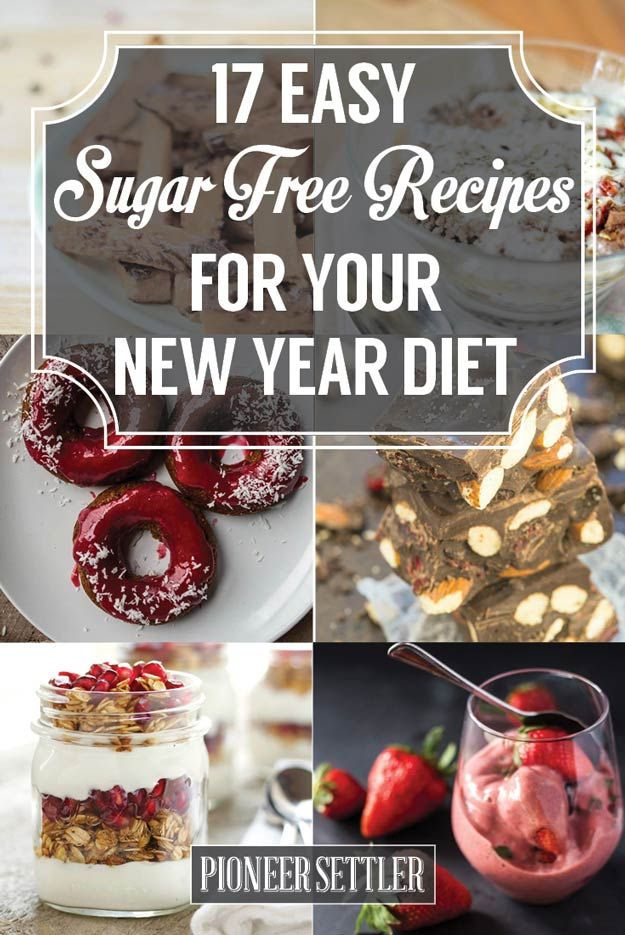 17 Easy Sugar Free Recipes for your New Year Diet