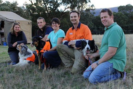 Otway Conservation Dogs deploy to the Grampians National Park.