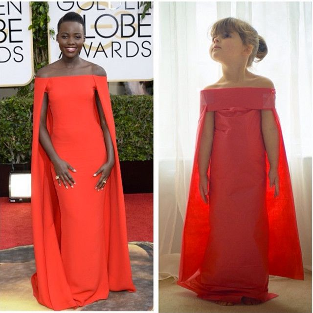 4-Year-Old Fashion Designer Makes Amazing Gowns Out Of Paper