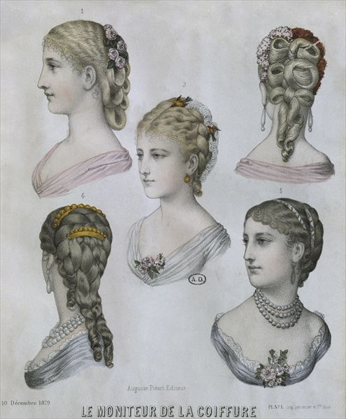 bridesmaids hair styles 206 best 1870 1879 history of fashion images on 1876
