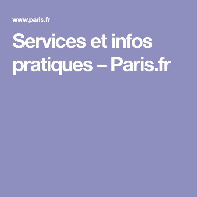 Services et infos pratiques – Paris.fr
