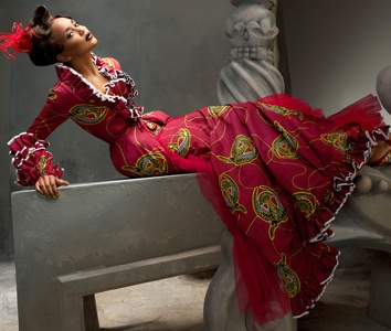 The madness of wax: Vlisco, the wax and luxury.