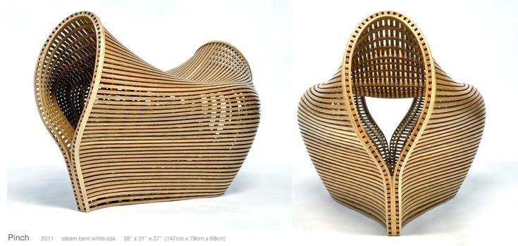Pinch bench, 2011 by Matthias Pliessnig