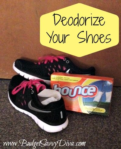 Use Dryer Sheets to Deodorize Your Shoes