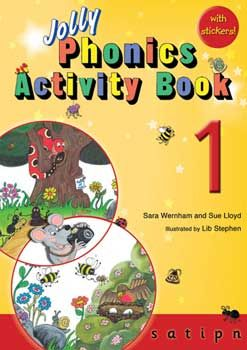 GREAT phonics activities for 3-6 year olds.  They have several books that cover different sounds.